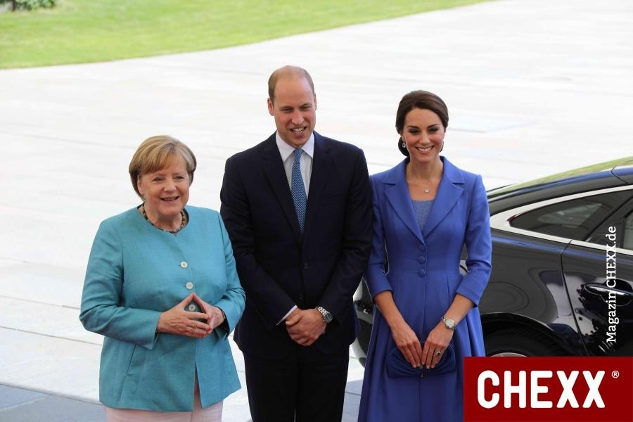 Prinz William und Herzogin Catherine in Berlin