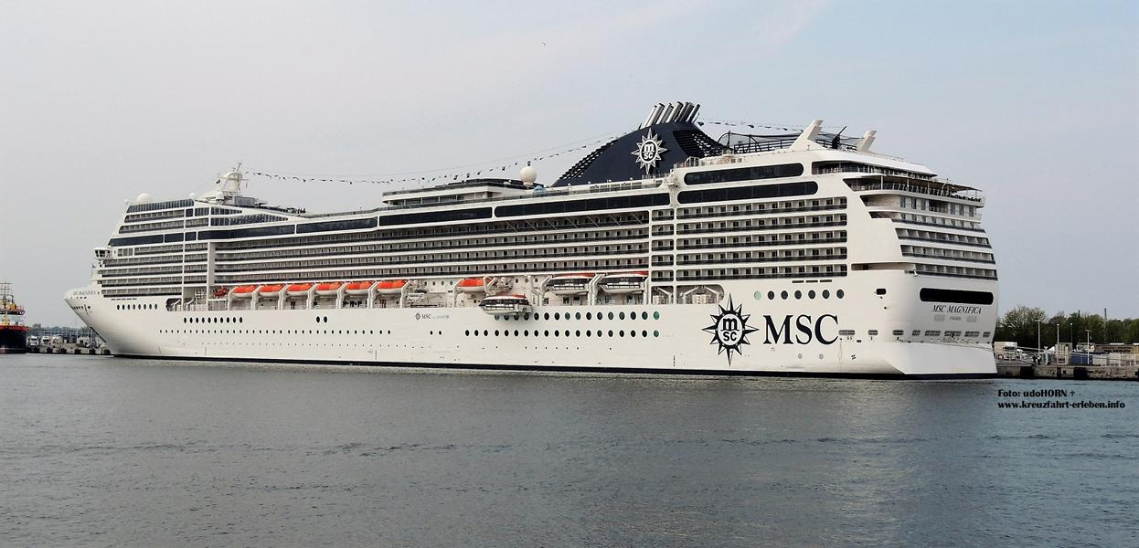 MSC Magnifica 13.05.17 in Wmnde 100